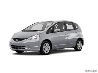 Honda Fit Silver 2013