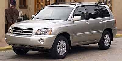 Toyota Highlander Std 2002