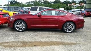 Ford Mustang EcoBoost Rojo Vino 2016