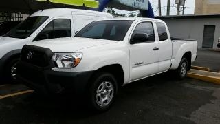Toyota Tacoma Blanco 2015