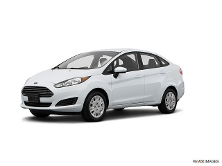 Ford Fiesta S White 2015