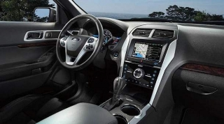 Ford Explorer Limited Silver 2016