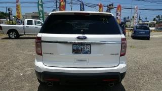 Ford Explorer Limited Blanco 2015