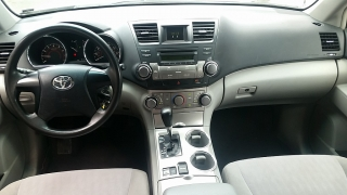 Toyota Highlander Base Blanco 2011