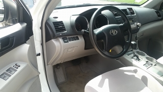 Toyota Highlander Base Blanco 2009