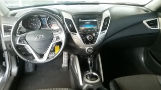 Hyundai Veloster Gris 2013