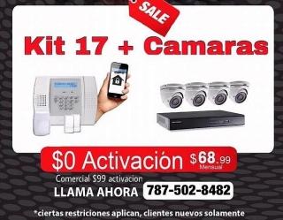 ALARMA Y 4CAMARAS HD EN OFERTA