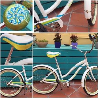 """SUPER CUTE - Bicicleta """"Cruiser"""" de Mujer."""