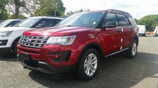 Ford Explorer Base Rojo 2016