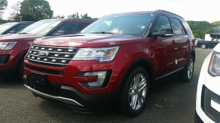 Ford Explorer XLT Rojo 2016