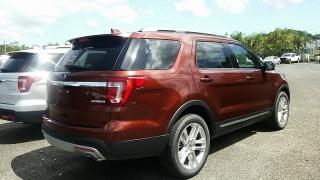Ford Explorer XLT Rojo Vino 2016