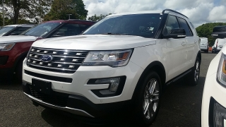 Ford Explorer XLT Blanco 2016