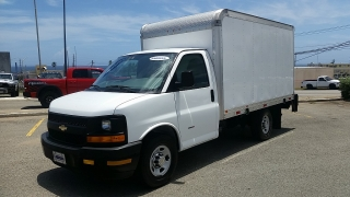 Chevrolet Express Commercial Cutaway Diesel Blanco 2012