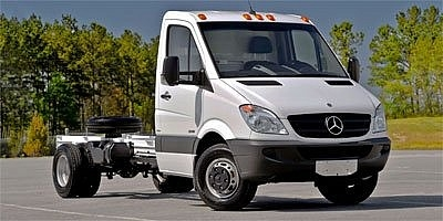 Mercedes-benz Sprinter Chassis-cabs Blanco 2012