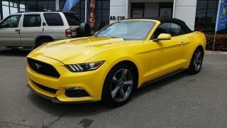 Ford Mustang V6 Amarillo 2015