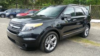 Ford Explorer Limited Negro 2015