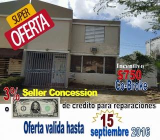 BAYAMON Villas del Rio 12 St. A-6 $84,900  (DAK)