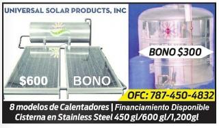 Cisterna - Calentadores Solares