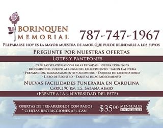 Servicio de Funeraria y Cementerio