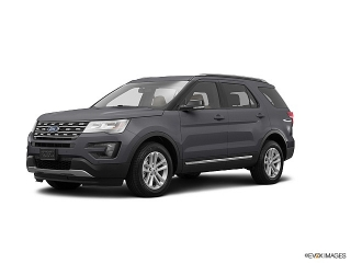 Ford Explorer Xlt Gray 2016