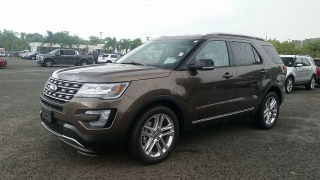 Ford Explorer XLT Marron 2016