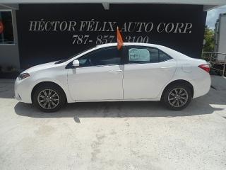 Toyota Corolla  2014 Por debajo del costo//787-857-3100