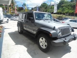 Jeep Wrangler .Unlimited Sport 2016 787-857-3100