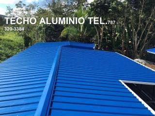 TECHOS DE ALUMINIO-TECHO METAL 787 320-3384