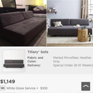 Mueble / Sofa moderno