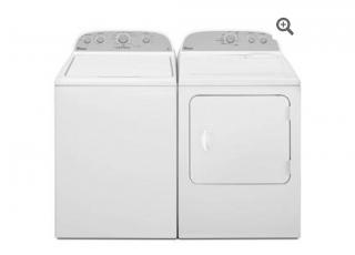 Combo Whirpool lavadora y secadora