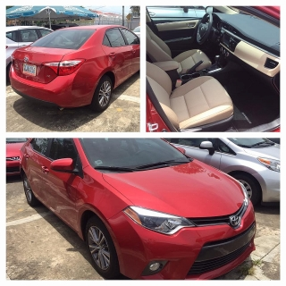 Toyota Corolla 2015 Rojo