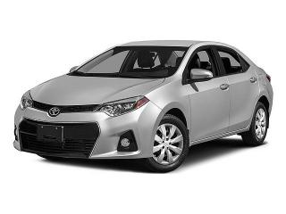 Toyota Corolla Black 2015