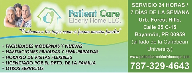 Patient Care Elderly Home LLC