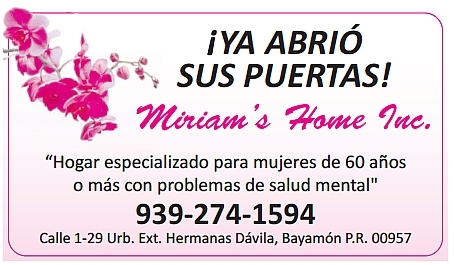Miriam's Home Inc.