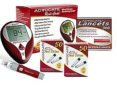 Kit Medidor de Glucosa Redi Code Plus