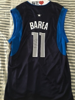 JJ Barea Signed Authentic Dallas Mavericks Jersey #11