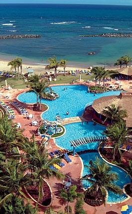 Lujosa villa con vista al mar en Aquarius Vacation Club en Dorado