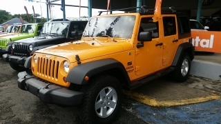 Jeep Wrangler Unlimited Sport Amarillo 2013