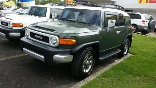 Toyota Fj Cruiser Verde 2012