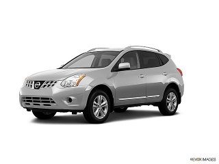 Nissan Rogue S Silver 2012