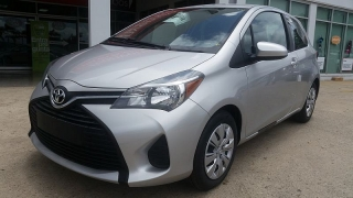 Toyota Yaris Sedan Silver 2016