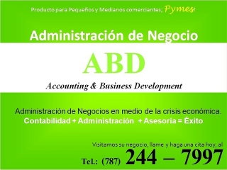 ABD - Accounting & Business Development