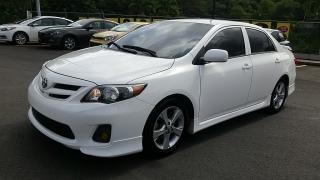 Toyota Corolla S Blanco 2011