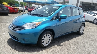 Nissan Versa Note S Plus Azul 2015