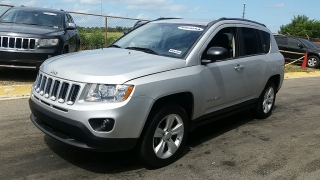 Jeep Compass Sport Plateado 2012