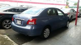Toyota Yaris Base Azul 2007