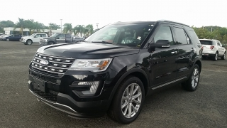 Ford Explorer Limited Negro 2016