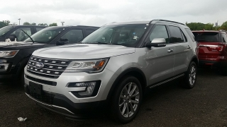 Ford Explorer Limited Plateado 2016