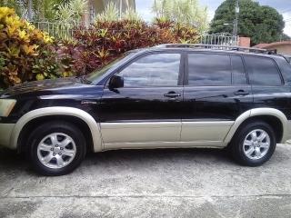 Toyota Highlander Limited 2002 Negro