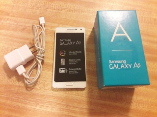 Galaxy A5 (SM-A500M) 16 GB Pearl White
